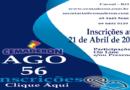 Inscrições AGO 56 – Até 21 de Abril