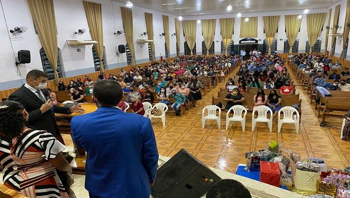 Culto de posse e substituição de Pastores Presidentes.
